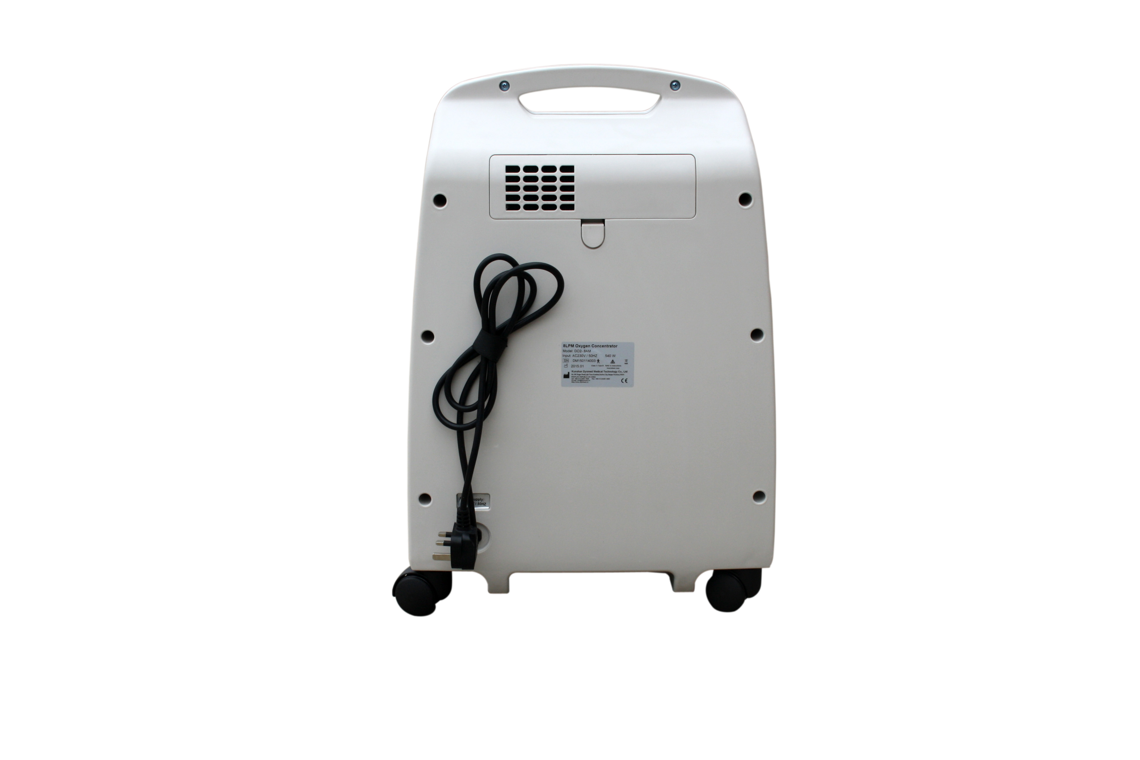 5L medical oxygen concentrator with low oxygen alarm